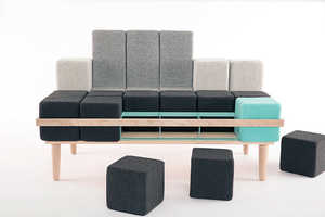 35 Examples of Customizable Seating - From Adaptable Sofa Seats to Modular Beanbag Loungers
