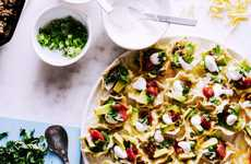 Easy Microwavable Nachos