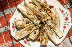 Cheesy Grilled Endives