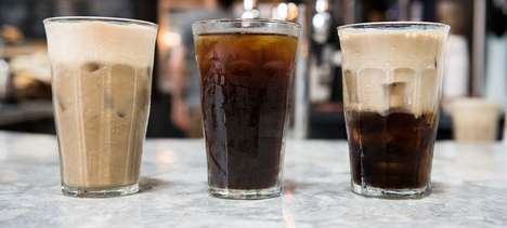 Cold Coffee Lattes - La Colombe's Iced Coffee Latte is Prepared with Frothy Microfoam Milk