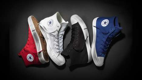 Refashioned Iconic Sneakers - The Chuck Taylor All Star II Modernizes an Iconic Design