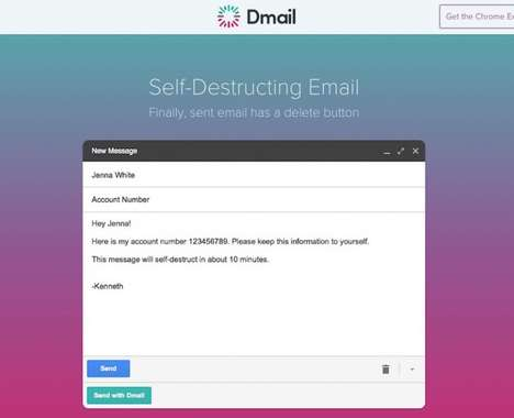 Ephemeral Email Extensions