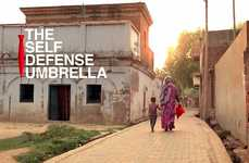 Anti-Theft Umbrella Campaigns - Vodafone India Created the Self-Defense Umbrella to Protect Women