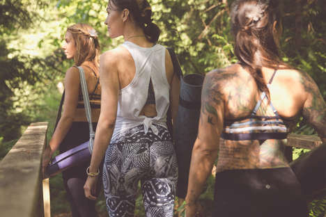 Festival Fitness Gear - This Yoga Clothing Collaboration Blends Freedom, Flexibility and Fitness