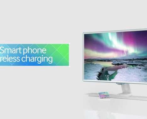 Smartphone-Charging Monitors