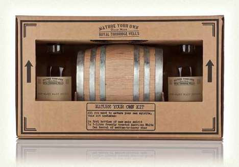 Cocktail-Aging Kits - Master of Malt's 'Mature Your Own Cocktail Kit' Creates Aged Custom Cocktails