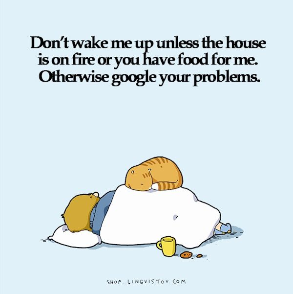 Hilarious Sleep Illustrations