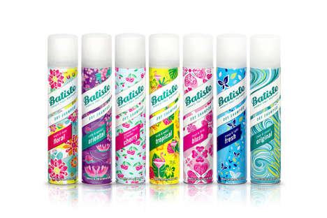 Hidden Icon Shampoo Branding - The Re-Branding of Batiste Infuses Colorfully Whimsical Hidden Icons