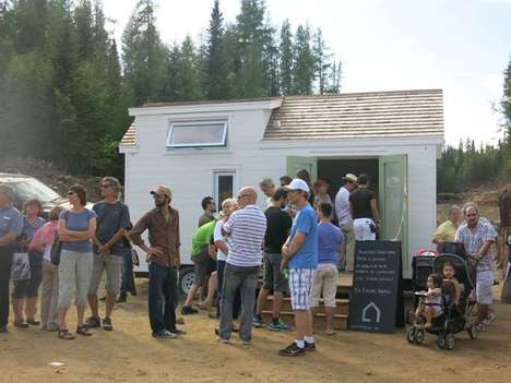 Micro Dwelling Festivals - Small Homes are Celebrated at Canada's Tiny House Festival