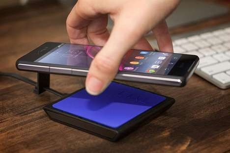 Metal-Bodied Phone Chargers - Qualcomm's WiPower Technology Wirelessly Charges Metal Phones