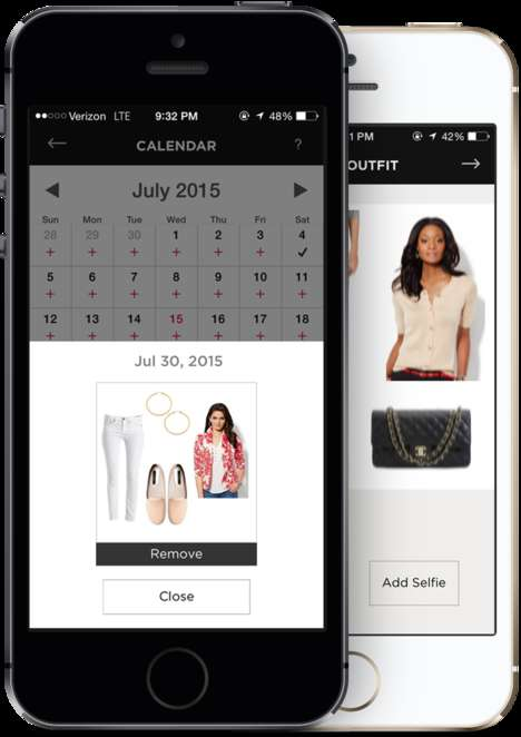 Virtual Wardrobe Apps - The 'Stuff n Style' App Picks Outfits Based on a User's Personal Wardrobe