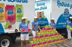 Water-Sampling Challenges - Nestle Encourages People to Try Sparkling Water for Seven Days
