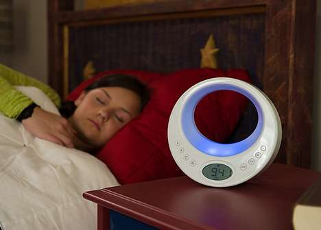 Calming Serenity Pods - This Light Therapy Device Helps Users Achieve a Relaxed State of Mind