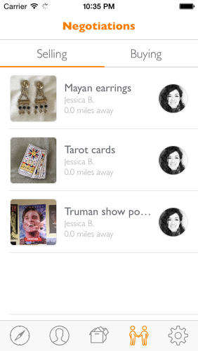 Junk-Selling Apps - The 'Tradr' App Allows Users to Easily Sell Junk and Handmade Goods
