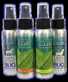 Natural Aromatic Bug Repellent - The Skeeter Skidaddler is a Safe and Natural Bug Repellent