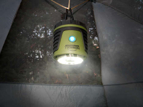 Bug-Dismissing Lanterns - The Thermacell Bug Repellent Camp Lantern Protects a 15 Square Foot Area