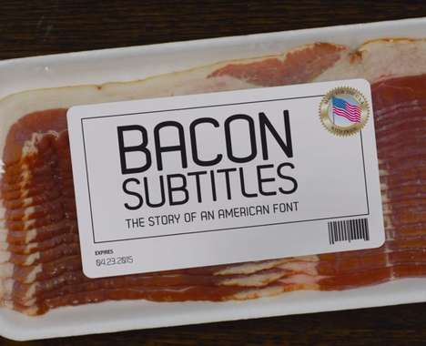 Bacon-Themed Film Festival Ads