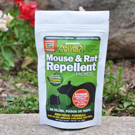 Organic Rodent Repellents - This Non-Toxic Repellent Helps Keep Rats and Mice Out of Protected Areas