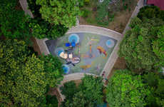 Drone-Photographed Playgrounds