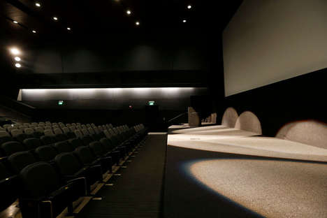 Hybrid Screening Theaters - The Cleveland Institute of Art Cinematheque Shows Film & Digital Formats