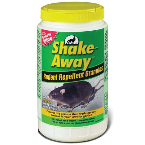 Non-Toxic Pest Pellets - Shake-Away's Rodent Repellent Granules Keep Mice at a Distance
