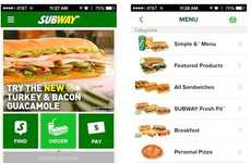 Pre-Ordering Sandwich Apps