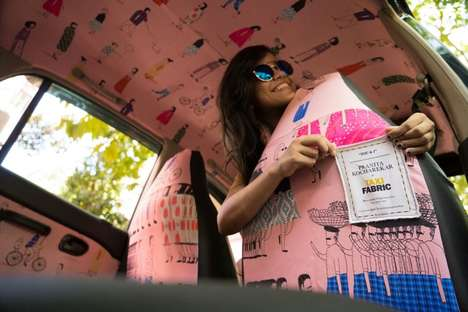 Artistic Indian Taxis - This Project Called on Local Artists to Decorate the Taxis of Mumbai