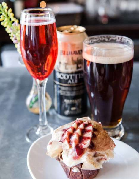 Alcoholic Dessert Pairings - This Chef Goes Beyond Wine to Pair Her Desserts with Beer and Cider