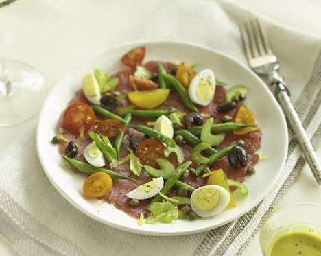 Seafood Wine Pairings - This Recipe Pairs a Refreshing Riesling with Veggie-Filled Tuna Carpaccio