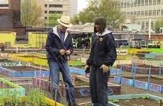 Homeless-Helping Community Gardens