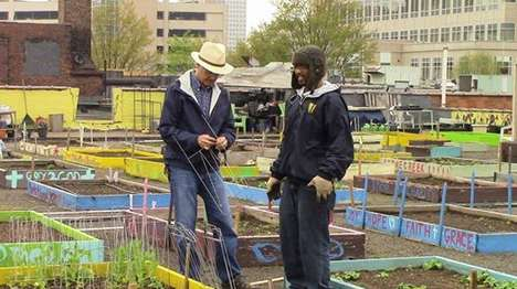 Homeless-Helping Community Gardens - This Organic Garden Helps to Feed an Enitre Homeless Shelter