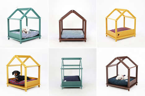 27 Convenient Canine Beds - From Canine Camping Beds to Modern Art Doggie Beds