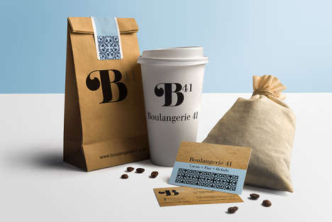 Chic French Bakery Branding - Boulangerie 41 is a French Patisserie Located in Mexico