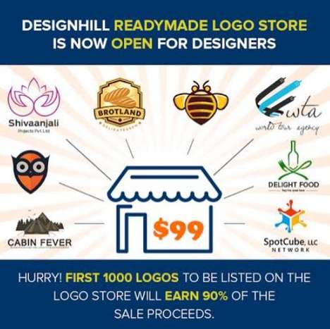 Readymade Logo Designs - Designhill's Logos Cater to a Wide Variety of Industry Verticals