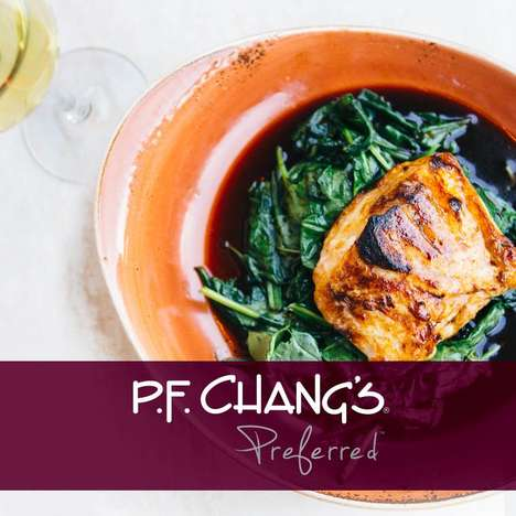 Digized Loyalty Programs - P.F. Chang's New Customer Rewards Program is Entirely Digital