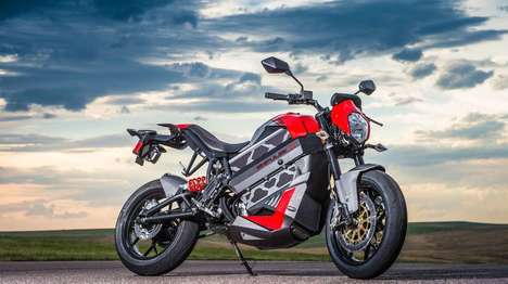 Versatile Electric Motorbikes - The Empulse TT is Victory's First Road-Legal Electric Motorcycle