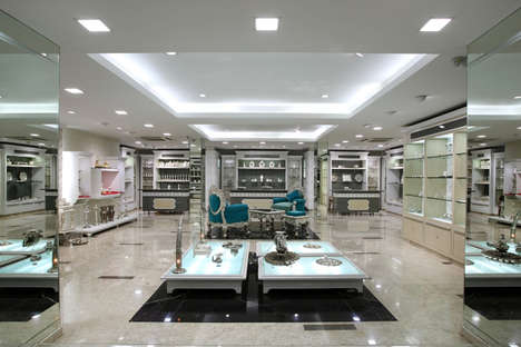 Standalone Jewelry Departments - This Family Jeweler Created a Separate Section Just for Silver