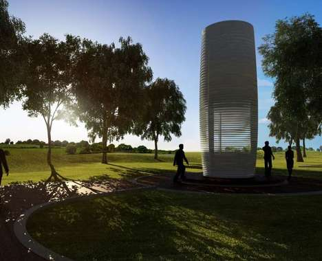 Air-Purifying Towers