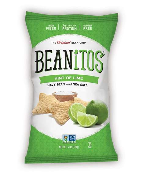 Citrusy Bean Chips - Beanitos' Newest Navy Bean Chip Variety Comes in a Lime Flavor