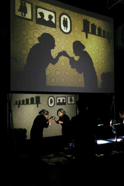 Theatrical Shadow Shows - The Manual Cinema's Shadow Puppet Show Puts People Behind the Screen
