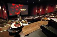 Hybrid Restaurant-Theaters - CineBistro Pairs Fine Food & Films for a Truly Entertaining Experience