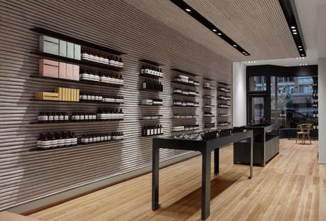 Elegant Skincare Outposts - The Aesop Toronto Boutique is an Understated Retail Heaven