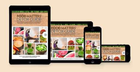 Digital Diet Guides - The Food Matters Platform Creates a Three Day Detox System for Users