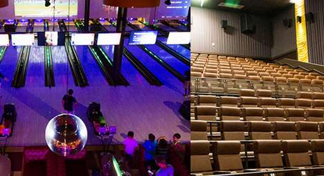 Bowling Alley Cinemas - Entertainment is Taken to the Next Level at Frank Theaters Cinebowl & Grille