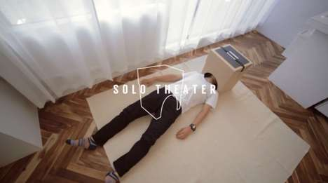 Personal Smartphone Theaters - The 'Solo Theater' Turns a Mobile Device into a Cinematic Experience
