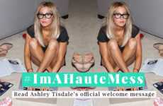 Liberating Female Publications - Ashley Tisdale's 'The Haute Mess' is an Inspirational Platform