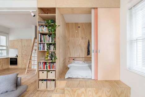 Compact Eco Apartments - This Melbourne Residence Marries Rustic and Contemporary Details