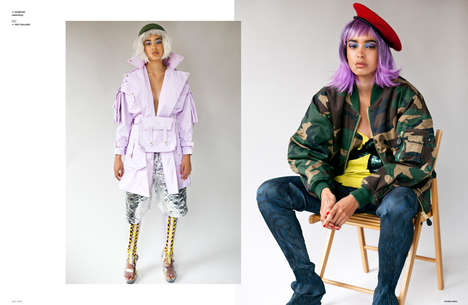 Colorful Wig Editorials - The Ones 2 Watch 'Battle Bazaar' Series Highlights Urban Apparel