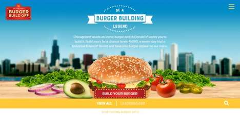 Burger-Building Contests - Mcdonald's Chicago is Having People to Build a Burger to Make the Menu