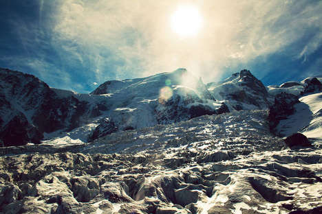 Scenic Mountain Photography - Laura Poacher Captures the Stunning Landscapes of the French Alps